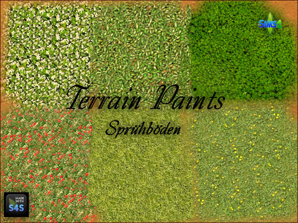 Arte Della Vita: 6 terrain paints for grass floors