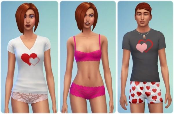 Annett`s Sims 4 Welt: Valentine clothes