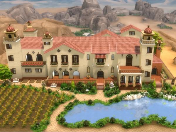 The Sims Resource: Hacienda Milagros by millasrl