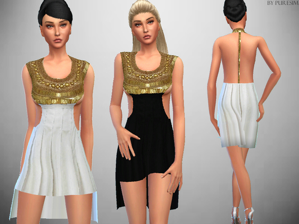 The Sims Resource: Goddess Dress by PureSim