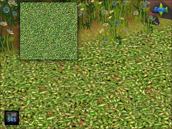 Arte Della Vita 6 Terrain Paints For Grass Floors Sims