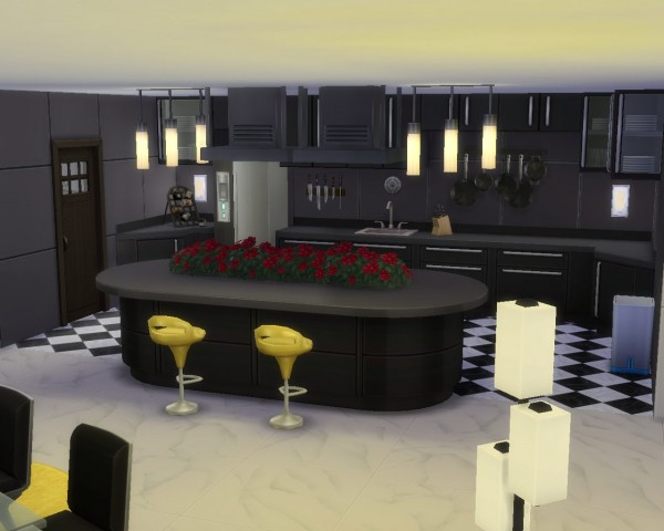 Mod The Sims: Moonwalk Heights/NO CC by mintblue