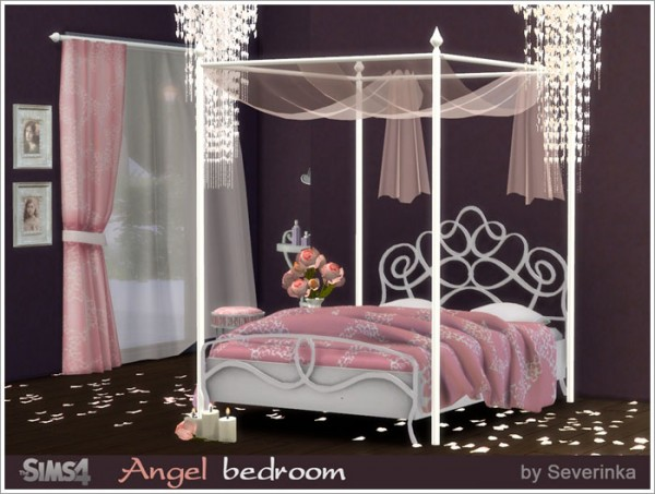 Sims By Severinka Angel Bedroom O Sims 4 Downloads