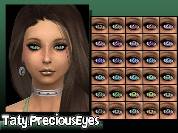 The Sims Resource: Precious Eyes by Taty