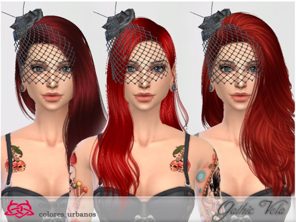 The Sims Resource Gothic Veil Accessory By Coloresurbanos