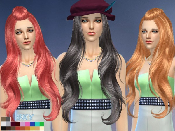 The Sims Resource: Skysims hair 258