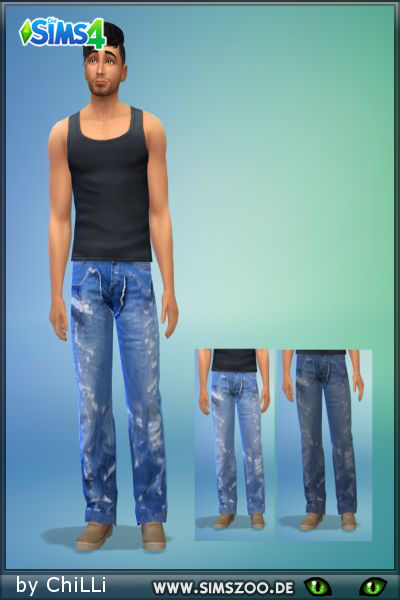 Blackys Sims 4 Zoo: Jeans 1by ChiLLi