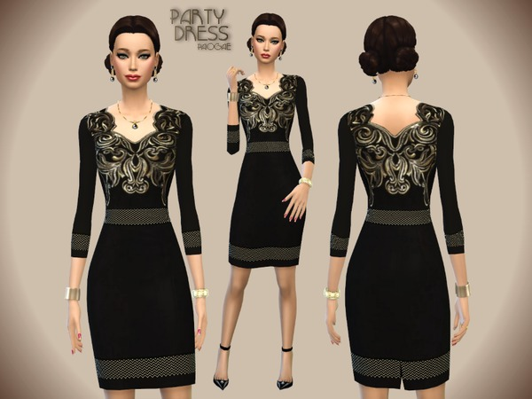 The Sims Resource: Party Dress by Paogae