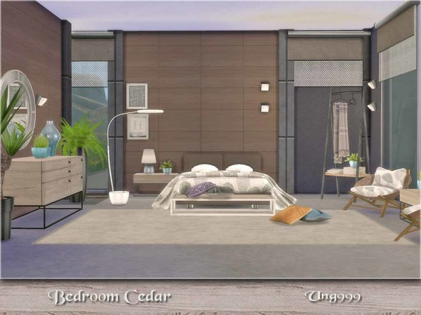 The Sims Resource Bedroom Cedar By Ung999 Sims 4 Downloads
