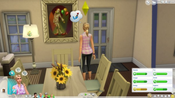 Mod The Sims: Ironic Clown TS3 to TS4 conversion by Danburite2