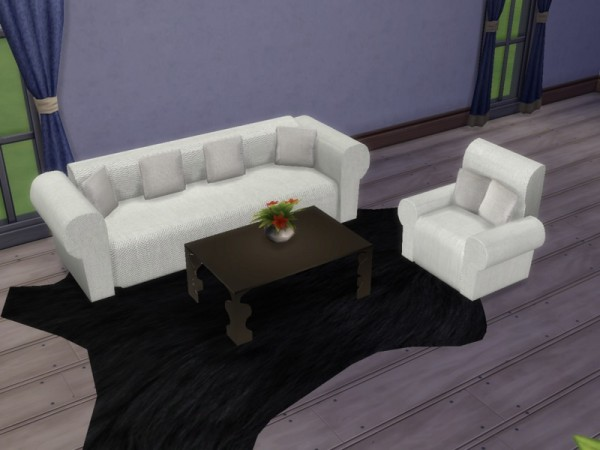 The Sims Resource: Set furniture for living room by Paulo paulol