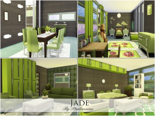 The Sims Resource: Jade house by Praline