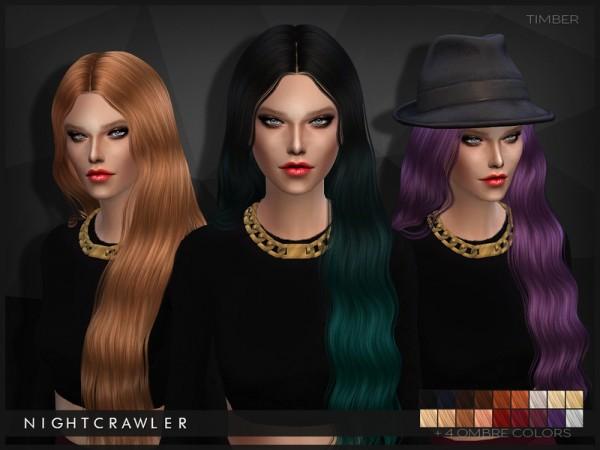 The Sims Resource: Nightcrawler  Timber hair