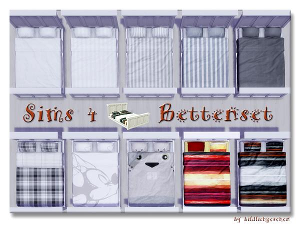 Akisima Sims Blog: Bed set