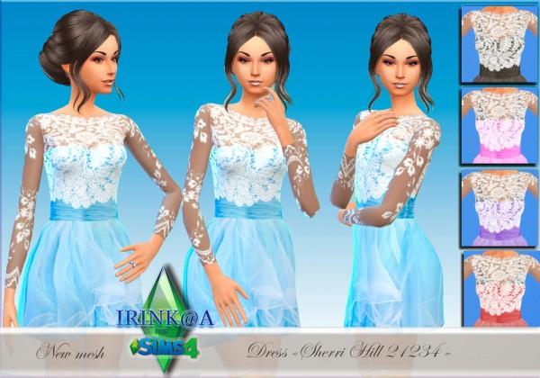 Irinka: Dress Sherri Hill 21234