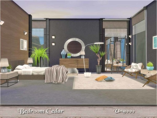 the sims resource bedroom cedar by ung999 sims 4 downloads. Black Bedroom Furniture Sets. Home Design Ideas