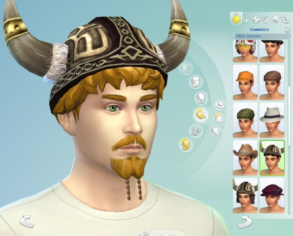 Mod The Sims Viking Hat Conversion From Ts2 To Ts4 By