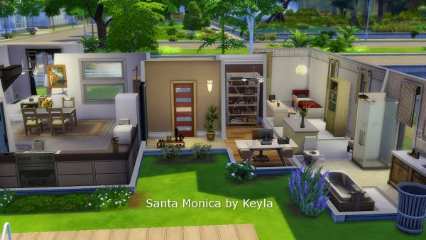 Keyla Sims: Santa Monica by Keyla