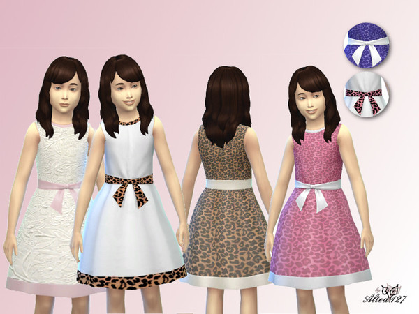 The Sims Resource: Formal dress by Altea127
