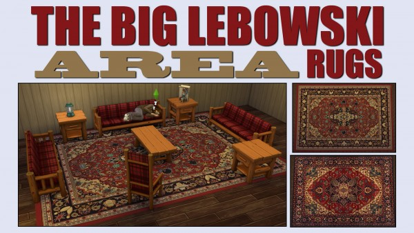 Mod The Sims: The Big Lebowski Area Rugs By Ironleo78 ...