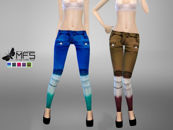 MissFortune Sims: Holly Pants
