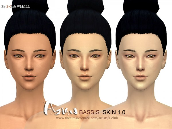 The Sims Resource: Asian bassis ND skintones