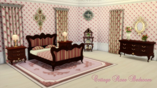 CC4Sims: Curtains bedroom