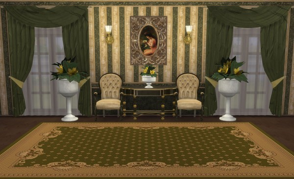 Sims Creativ: Living Olivia by HelleN