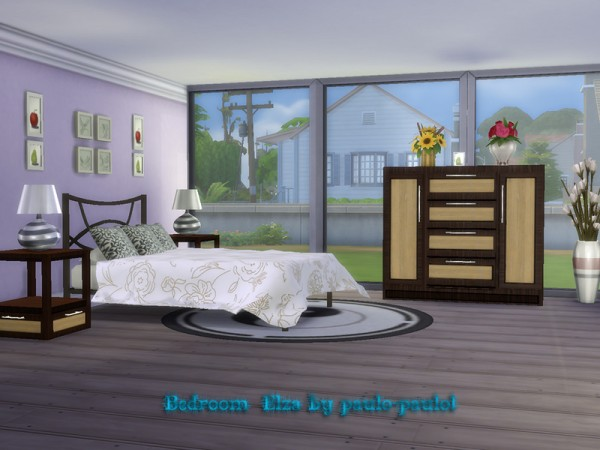 The Sims Resource: Bedroom Elza by paulo paulol
