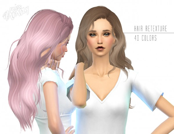 Miss Paraply: Retexture of Newsea Hello