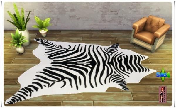 Zebra Sims 4 Rug Pralinesims Zebra Rug Annett S Sims 4