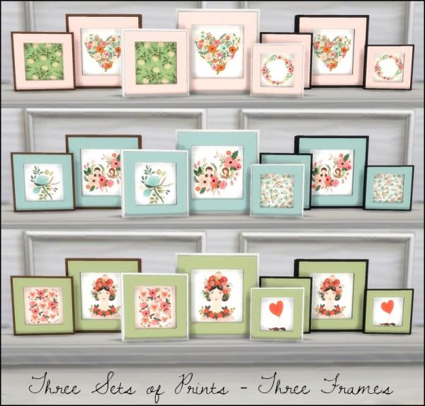 Martine Simblr Framed Prints Rose Bouquet And Sheer