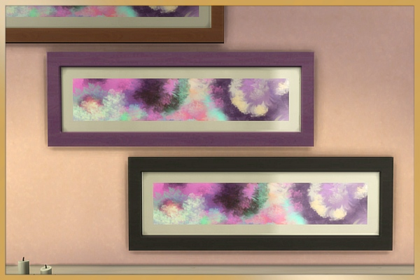 Blackys Sims 4 Zoo: Sims Art Sirls paintings by Cappu