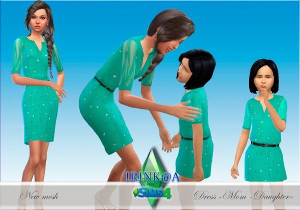 Irinka: Dress Mom+Daughter