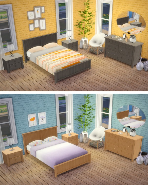 saudade sims mels bedroom � sims 4 downloads