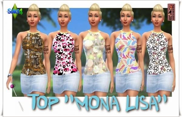 Annett`s Sims 4 Welt: Top Mona Lisa