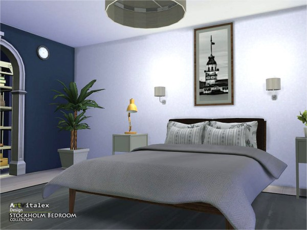 The Sims Resource: Stockholm Bedroom by Artvitalex