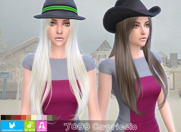 NewSea: J099 Capriccio hair