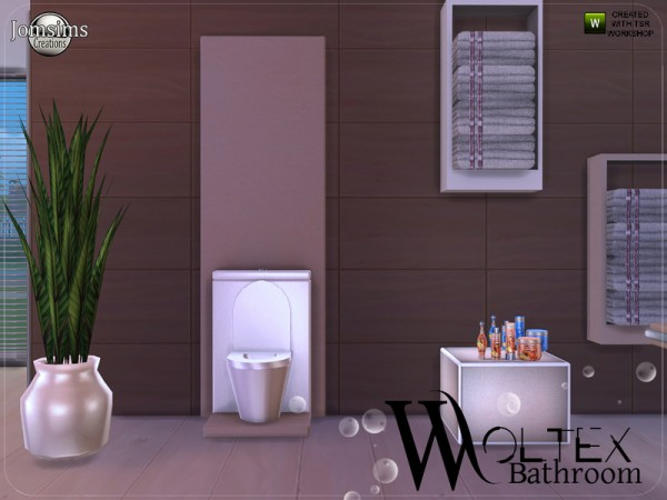 The Sims Resource: Woltex bathroom by JomSims