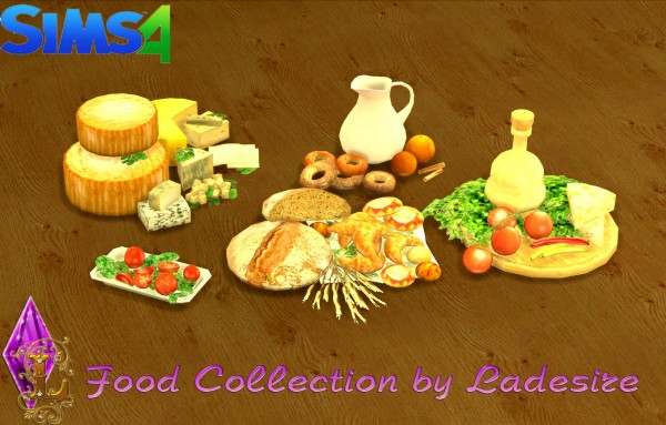 Ladesire Creative Corner: Food Collection