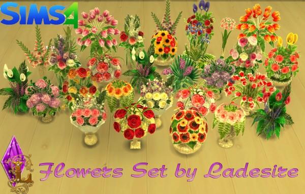 Ladesire Creative Corner: Flowers Set