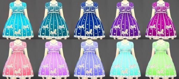 Decay Clown Sims Loli Dress 00 Sims 4 Downloads
