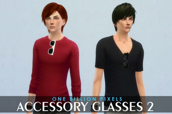 One Billion Pixels: Accessory Glasses 2
