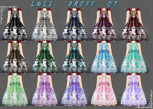 Decay Clown Sims: Loli dress 01