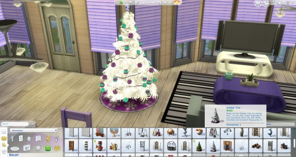 Mod The Sims: Snow White Christmas Tree by wendy35pearly