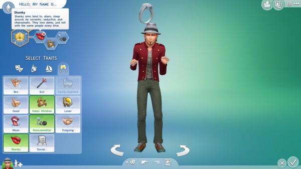 Mod The Sims: Skanky Trait (Redownload) by egm2000