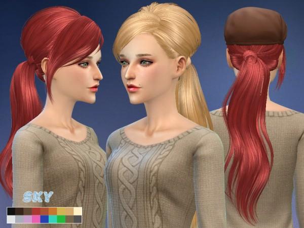 The Sims Resource: Skysims hair 208