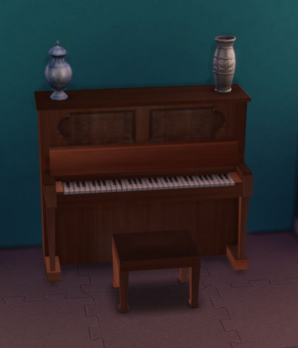 Mod The Sims: Simple Upright Piano by ugly.breath