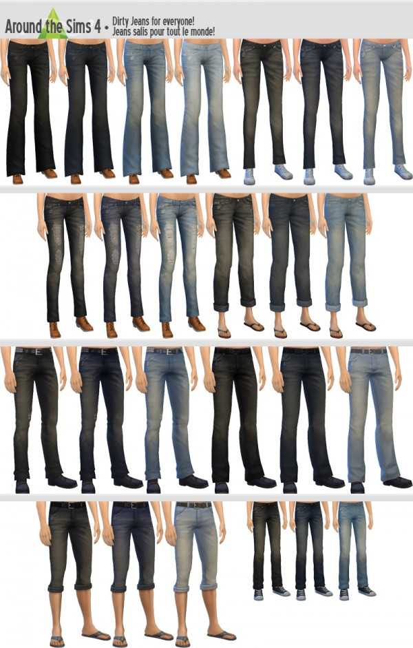 Around The Sims 4: Jeans