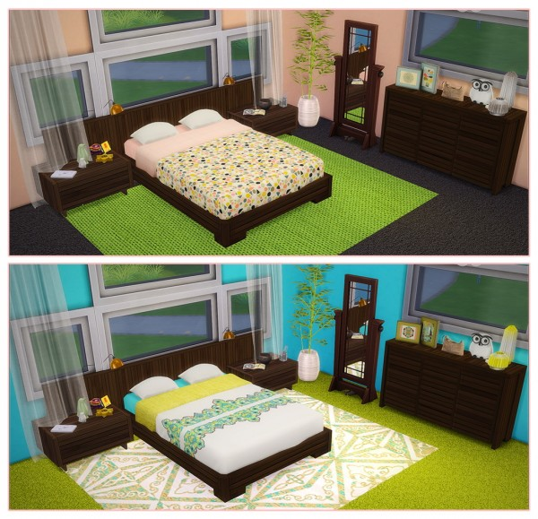Saudade Sims: Magnolia Bedroom